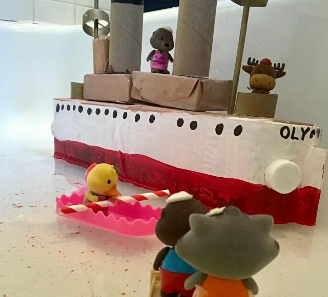 Bathtub boats made at The Independence Seaport Museum