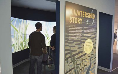 Watershed Story exhibit at The Independence Seaport Museum