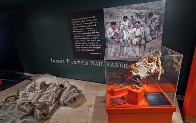 James Forten Sailmaker exhibit at The Independence Seaport Museum